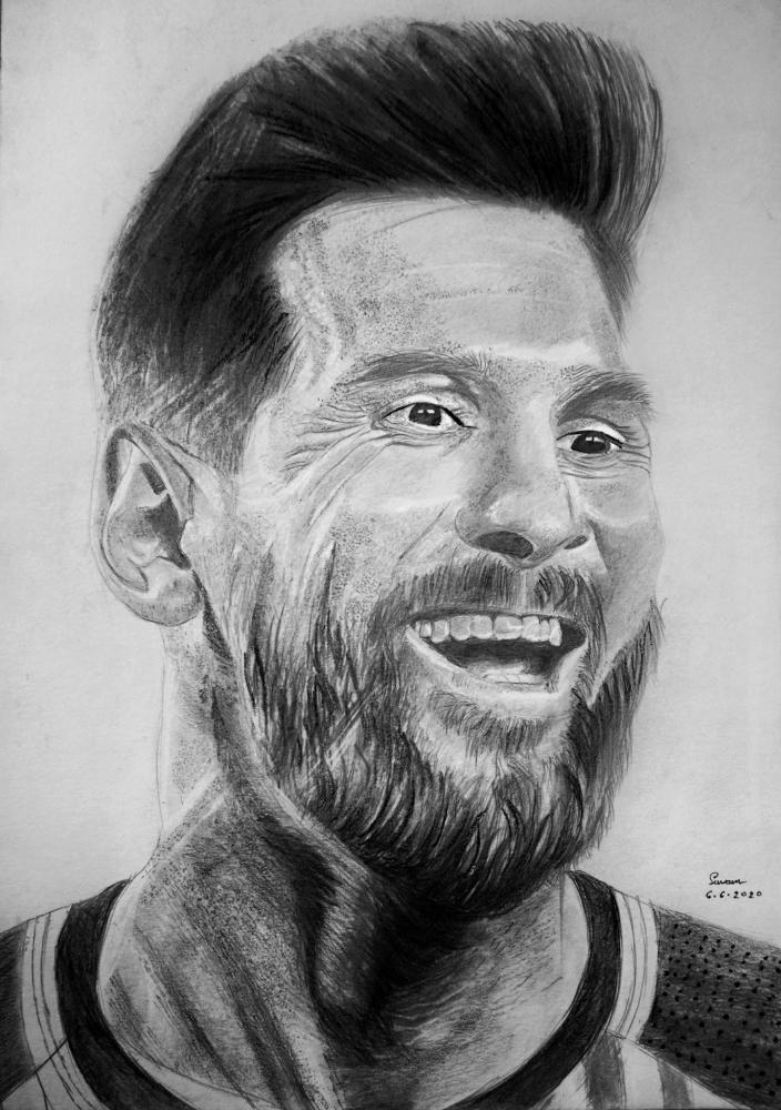 Lionel Messi par suvam2099